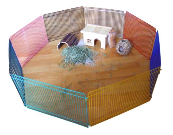 freigehege gehege freilaufgehege zaun hamster m use ebay. Black Bedroom Furniture Sets. Home Design Ideas